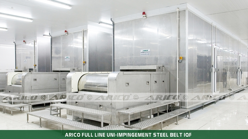 Arico-Uni-Impingement-Steel-Belt-IQF